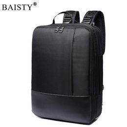 Wholesale multifunctional laptop backpack - 2017 Classic Business Backpack Large Capacity Multifunctional Oxford Computer Bags for 16 inch Laptop Casual Travel bag Day pack