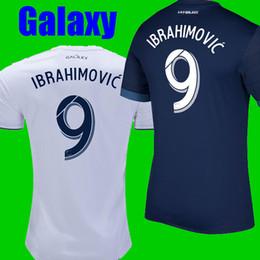 Wholesale Los Angeles Jerseys - Thailand La galaxy Ibrahimovic soccer jersey 2018 Maillots de football zlatan ibrahimovic galaxy jersey los angeles jersey camisetas shirt
