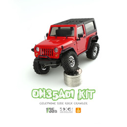 Wholesale rc crawler parts - Orlandoo OH35A01 Kit Hunter 1 35 DIY Micro Crawler RC Remote Control Car without Electric Parts