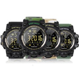 2019 reloj smart u8 EX16s камуфляж смарт-часы IP67 водонепроницаемый шагомер Smartwatch будильник секундомер длительным временем ожидания наручные часы для IOS Android телефон
