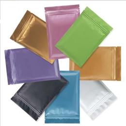 2019 мини мешочки Многоцветный Resealable Zip Mylar Bag Хранения Пищевых Продуктов Алюминиевая Фольга Мешки пластиковые упаковки мешок Запах Доказательство Запаха
