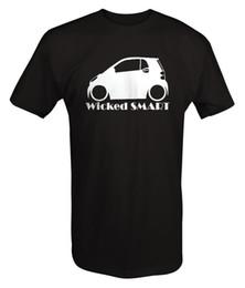 Canada Wicked Smart Car - Deux Quatre - Abaissé Racinger T-shirt Personnalisé Hommes T-shirts Eté Hipster Homme Imprimé T-Shirt Hipster Offre