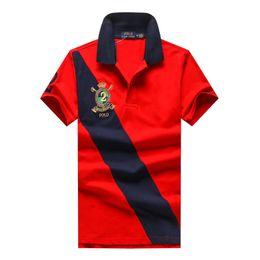Wholesale European T Shirts Men - mens clothing t shirt designer polo shirts men designer t shirts 2018 luxury brand men polo shirt