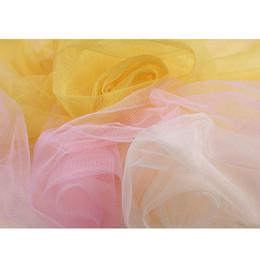 2019 vestido de noiva de tecido líquido Tule macio Tecido De Malha Para O Vestido de Casamento Pano Netting Mosquito Net Cor Sólida Pettiskirt Véu vestido de Baile Tutu 1 jardas vestido de noiva de tecido líquido barato