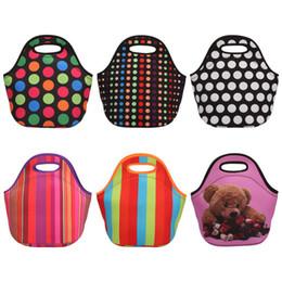 sac à lunch Promotion En gros sac à lunch, Monogramable Néoprène Starfish Lunch Box en Die Cut Poignée avec 6 couleurs LX0482