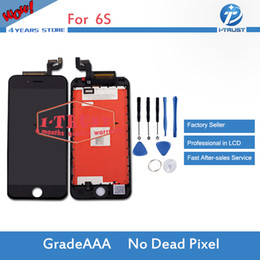 Wholesale Iphone Digitizer Replacement - A+++ Quality LCD Touch Screen Digitizer For iPhone 6S LCD and free Repair Replacement Parts With Repair Tools + Free Shipping