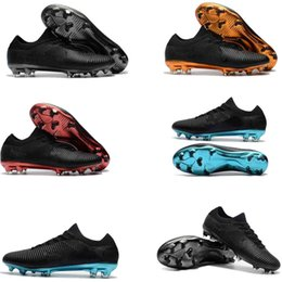 Wholesale Real Lawn - Original 2018 V SX Neymar Football Shoes Mercurial Vapor Ultra FG Soccer Boots Men Mercurial Superfly FG Soccer Cleats Real Madrid