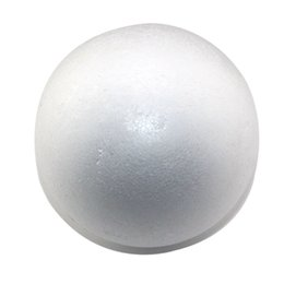 Wholesale white foam balls wholesale - CCINEE wholesale 10cm natural white styrofoam round balls Craft ball foam ball diy handmade painted ball(24pcs lot)