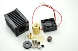 Wholesale Fan Module - Q-BAIHE Laser Module Housing 33x33x50mm for 9.0mm TO-5 LD with Glass Lens & Fans
