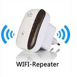 Wholesale wifi wireless signal booster - New Wireless Wifi Repeater router Signal Extender Repeater range booster WiFi Range Expander Signal Booster Extender DHL free shipping