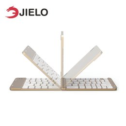 компьютеры apple tablets Скидка JIELO Bluetooth 3.0 беспроводная клавиатура для Apple ios smart Tablet PC для iPad клавиатура для телефона ноутбук настольный компьютер
