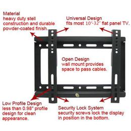 Wholesale Tv Mount Wholesale - 2PCS Universal TV Wall Mount Bracket For Most 14'' ~ 32'' HDTV Flat Panel TV