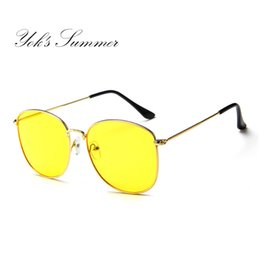 7ada3cbce2 sunglasses beach mirror Promo Codes - Yok s Summer Sunglasses Men Women  Full Frame Driving Glasses Clear