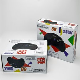 2019 sega mega drive 2 x классический игровой контроллер кнопки проводной 6 кнопка джойстик для Sega Sega Genesis / MD2 y1301 / PC Mac Mega Drive картриджи скидка sega mega drive