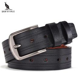 2019 fibbia vestiti uomini Cintura per uomo Cinture Cuoio cinghie elastiche  Uomo Reversibile Designer di grandi b9833546ba2