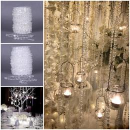 gebrauchte perlen Rabatt 2018 AB Acryl Kristall Perlen Vorhang Multi-Use Dekoration Lieferungen 10 Mm * 30 Mt Elegante Weihnachtsbaum Decor Freies DHL D882L