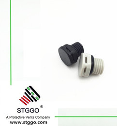 Wholesale Air Plugs - Advanced LED Lighting Breather Air Vent Waterproof IP 67 Protective PMF100318 M12 Screw in Air Vents Plug with Locking Ring