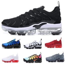 Wholesale Height Increasing Shoes China - Vapormax Tn Plus Running Shoes Men Mens Man Purple Cargo Sherbet Casual Sports Canvas Tennis Training China Zapatos Running Shoe Sneakers