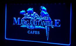 Signos margaritaville online-LS058-b Jimmy Buffett Margaritaville Letrero de neón Decoración Envío gratis Dropshipping Al por mayor 8 colores para elegir