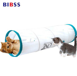 Wholesale Pet Cave - Multi-combination Shape Pet Tunnel Cat Play Tunnel Foldable Pet Animal Cat Kitten Play Toy Exercise Tunnel Cave Cat Toys