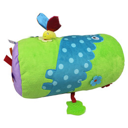 Wholesale Crawling Puzzle - Baby toy plush doll Roller Climbing pillows Roller Crawl Toddler walk Pillow Puzzle Fitness Multifunction Activity Game