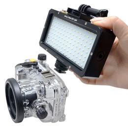 Luces de video bajo el agua online-venta al por mayor 30 M / 98 pies 5500 K Impermeable LED Video Subacuático Super Brillante Lámpara de Llenado de Buceo Adecuado para GOPRO SJCAM Acción Camer