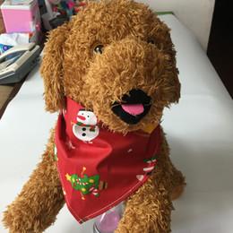 bandanas cão natal atacado Desconto Atacado 100 pçs / lote 2018 feriado do natal filhote de cachorro do cão pet bandanas cachecol cachecol de algodão mais fashionable y01