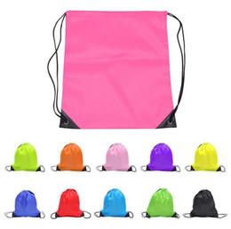 Wholesale freeze clothing - kids' clothes shoes bag School Drawstring Frozen Sport Gym PE Dance Backpacks