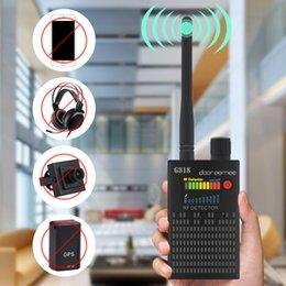 2019 dispositivo de câmera rf Anti-Sem Fio RF Signal Detector Conjunto GPS Detector De Sinal Da Câmera, para a Câmera GSM CDMA Ouvido Dispositivo GPS Radar Rádio Scanner PQ618 desconto dispositivo de câmera rf