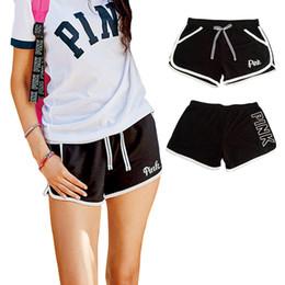 Wholesale Golf Short Set - 2018 New Summer Brand Women Clothing Set Pink Letter Top T-Shirt+ Sports Pants Girls Casual Short Sleeve Sport Suits Women's Tracksuit