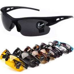 Wholesale bicycle beach - Outdoor Sports Cycling Sunglasses Bicycle Bike Riding Sun Glasses Eyewear Goggle UV400 Lens Outdoor Eyewear CCA9414 72pcs