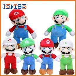 Wholesale Yoshi Plush Dolls - 6styles Game 25cm Super Mario Bros Luigi Yoshi Soft Plush Toys Cosplay Figure Runing Yoshi Animal Dolls Toys Peluches bebe