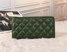 Wholesale Cheap Pocket Squares - Green Luxury wallets Wholesale Men Women Cheap Wallet Top PU Casual Wallets Top Selling Men Women Wallets With Dust Bag