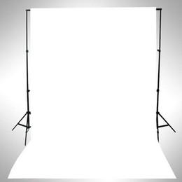 Wholesale Solid Color Vinyl Photography Backdrops - WHITE Thin Vinyl Photography Backdrop Background Studio Photo Prop Durable 3x5ft