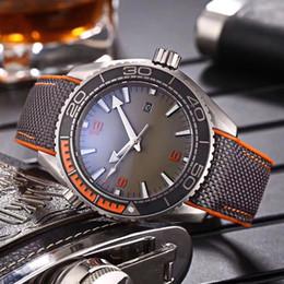 Wholesale watch men chronometer - New Luxury brand mechanical men High Quality Automatic Movement Wristwatches James Bond 007 Spectre Mens Sports Chronometer Watch