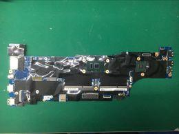 Placa mãe do laptop intel i5 on-line-01AY302 Laptop Motherboard para Lenovo ThinkPad T560 i5-6200