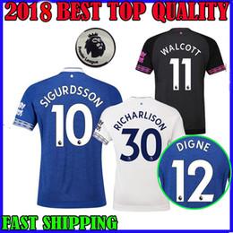 18 19 Everton Third soccer Jerseys home away Y.MINA SIGURDSSON ZOUMA DIGNE  WALCOTT AWAY LONG SLEEVE 2018 2019 RICHARLISON FOOTBALL SHIRTS 8eadc22e2
