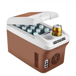 15 L Acampar Al Aire Libre Portable Mini Coche Nevera Bebida Refrigerador de Alimentos Caja de Frutas Fresh-keeping Refrigeración Calefacción Universal desde fabricantes