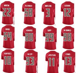 Wholesale Desean Jackson - BUCCANEER Tampa Bay #13 Mike Evans #3 Jameis Winston #58 Kwon Alexander 11 DeSean Jackson Men Women Youth Color Rush Elite Football Jerseys