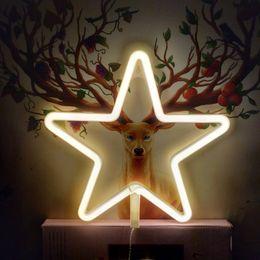 2019 luzes de néon para quartos TONGER luz de néon da estrela para quartos neon decoração home decor wall decor sign desconto luzes de néon para quartos