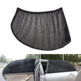 sunshades for cars Australia - Car Window Cover Sunshade Curtain 2pcs UV Protection Shield Sun Shade Mesh Solar Mosquito Dust Protection for lada kia suv