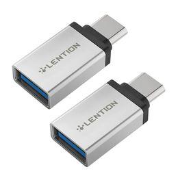 2020 chromebook samsung Adaptador USB-C para USB 3.0 Converter Tipo-C para Tipo-A Saída para MacBook 12 2016 2017 MacBook Pro 13/15 ChromeBook (2 Pack) chromebook samsung barato