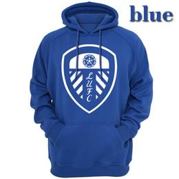 2019 roupas de outono Los blancos Leeds United Club homens Outerwear Hoodies moletons Casual vestuário com capuz com capuz vestuário primavera outono temporada roupas de outono barato