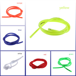 Wholesale Petrol Fuels - 1M Gas Oil Hose Modified Fuel Line Petrol Tube Pipe For Motorcycle Bike Parts Wholesale