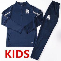 3c5b20faec7c0 2018 2019 Olympic Marseille Chándal Fútbol Jogging L.GUSTAVO THAUVIN kit  para niños Deportes 18 19 Traje de entrenamiento PAYET OM top de  entrenamiento ...