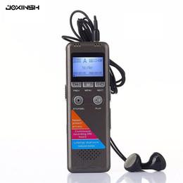 Sporting Sprachaktivierte 8 Gb Usb-festplatte Vor Wiederaufladbare Digital Audio Voice Recorder Pen 650hr Diktiergerät Mp3-player Schwarz Tragbares Audio & Video