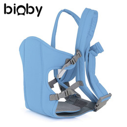 Wholesale Baby Sling Back - Baby Carrier Backpack Newborn Infant Breathable Ergonomic Adjustable Wrapping Sling Front Back Activity Gear Suspenders