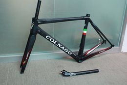 Wholesale Carbon Road Bike Frameset Sale - 20 colors 2017 HOT SALE colnago C60 road bike carbon frame carbon road bike frame 48 50 52 54 56cm T1000 carbon frameset