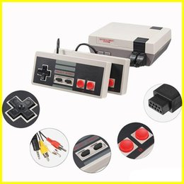Wholesale machines for keys - New Arrival Mini TV 620 500 Game Console Video Handheld for NES games consoles with retail boxs hot sale dhl