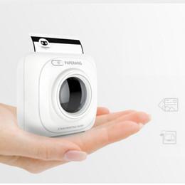 Wholesale Mini Printers - PAPERANG P1 Printer Portable Bluetooth 4.0 Printer Photo Printer Phone Wireless mini printers Hot selling